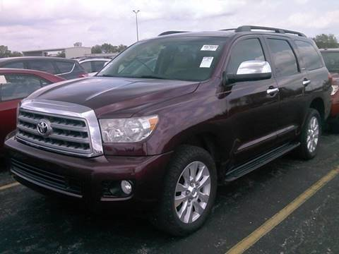 2008 Toyota Sequoia for sale at Yellow Brick Road Auto Sales in Larned KS
