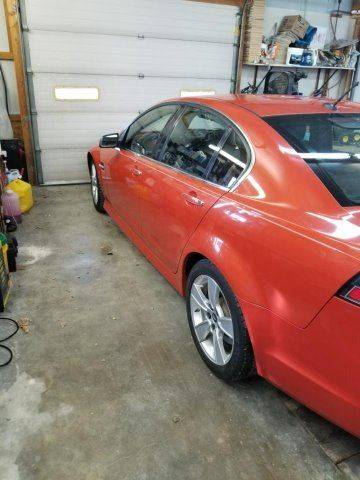 2008 Pontiac G8 Gt In Larned Ks Yellow Brick Road Auto Sales