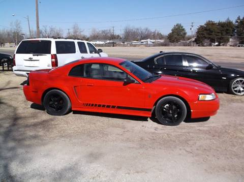 2000 Ford Mustang for sale at Yellow Brick Road Auto Sales in Larned KS