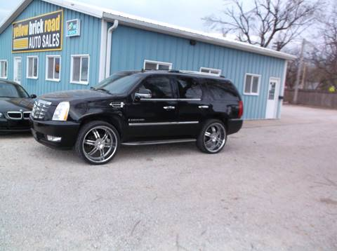 2007 Cadillac Escalade for sale at Yellow Brick Road Auto Sales in Larned KS