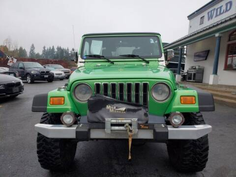 2004 Jeep Wrangler for sale in Seattle, WA