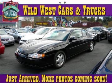 2000 Chevrolet Monte Carlo for sale in Seattle, WA