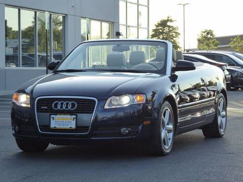 2007 Audi A4 for sale at Loudoun Motor Cars in Chantilly VA