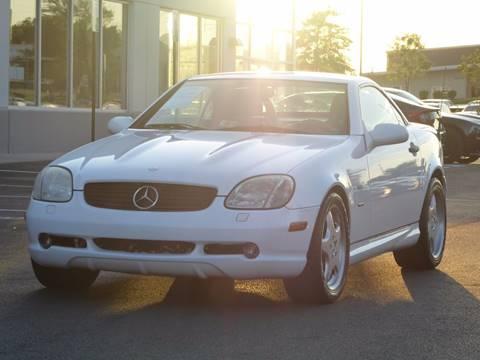 2000 Mercedes-Benz SLK for sale at Loudoun Motor Cars in Chantilly VA