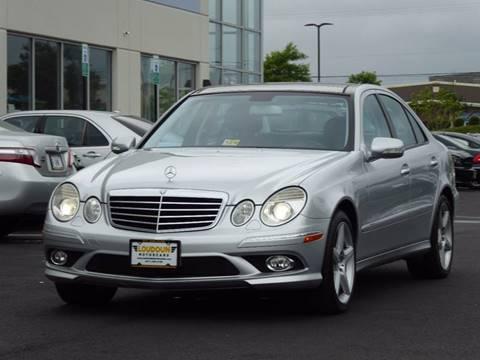 2009 Mercedes-Benz E-Class for sale at Loudoun Motor Cars in Chantilly VA