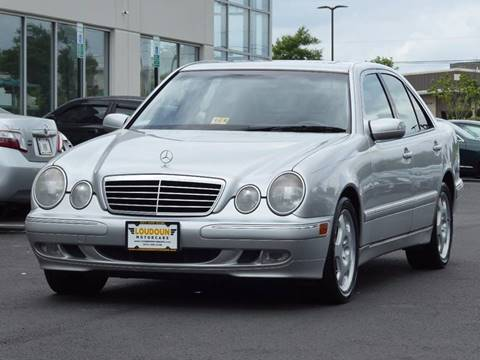 2001 Mercedes-Benz E-Class for sale at Loudoun Motor Cars in Chantilly VA