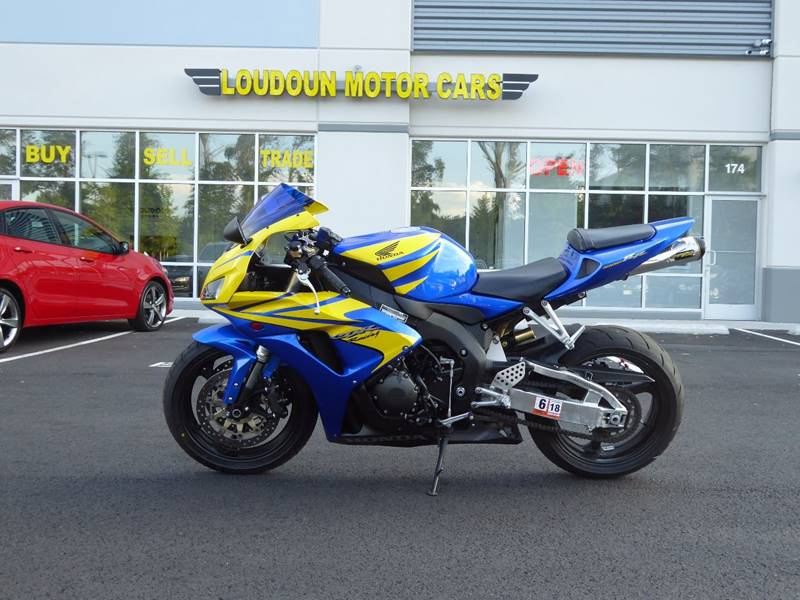 2006 Honda CBR 1000 RR for sale at Loudoun Motor Cars in Chantilly VA