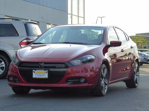 2015 Dodge Dart for sale at Loudoun Motor Cars in Chantilly VA