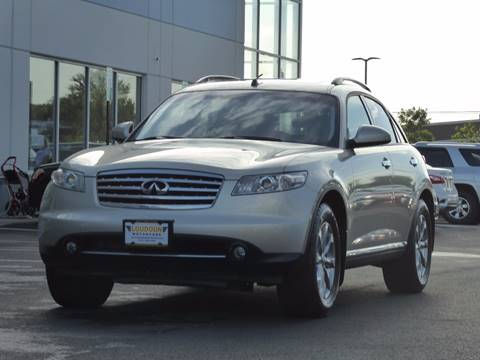 2007 Infiniti FX35 for sale at Loudoun Motor Cars in Chantilly VA