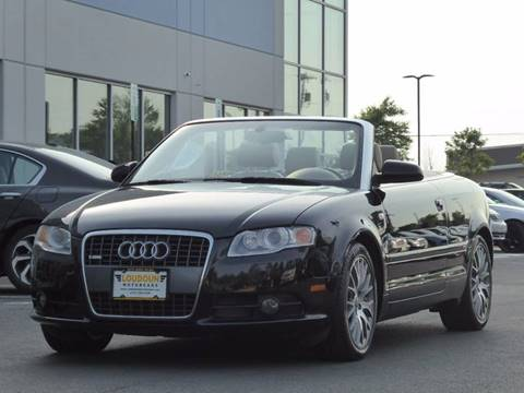 2009 Audi A4 for sale at Loudoun Motor Cars in Chantilly VA