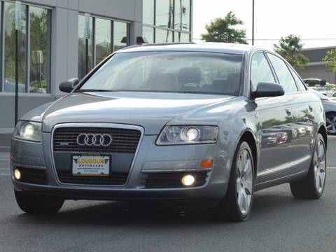2007 Audi A6 for sale at Loudoun Motor Cars in Chantilly VA