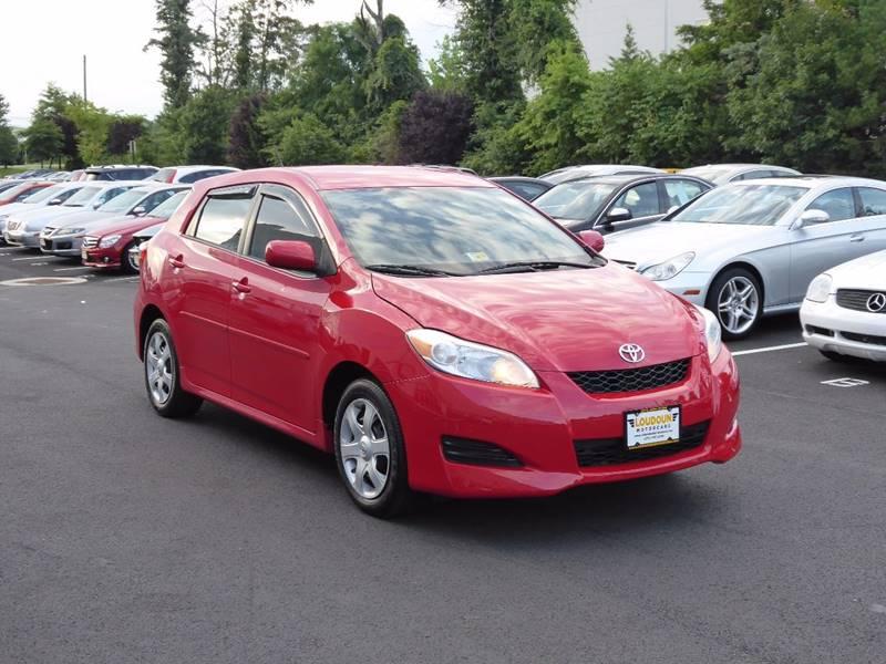 2009 Toyota Matrix for sale at Loudoun Motor Cars in Chantilly VA