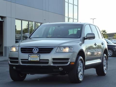 2005 Volkswagen Touareg for sale at Loudoun Motor Cars in Chantilly VA