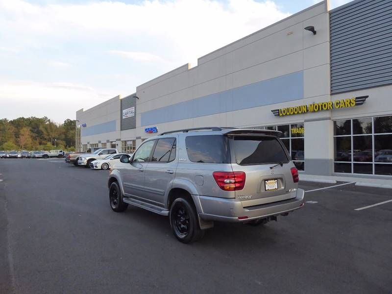 2004 Toyota Sequoia for sale at Loudoun Motor Cars in Chantilly VA