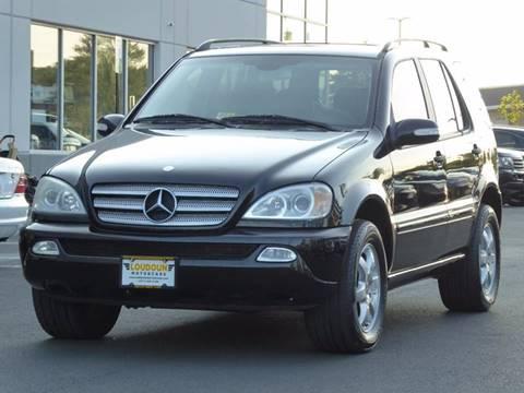 2003 Mercedes-Benz M-Class for sale at Loudoun Motor Cars in Chantilly VA