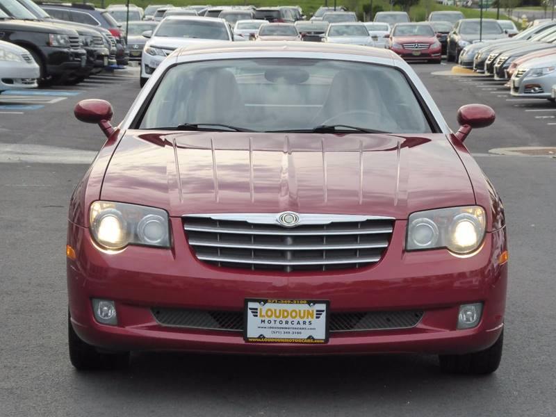 2004 Chrysler Crossfire for sale at Loudoun Motor Cars in Chantilly VA