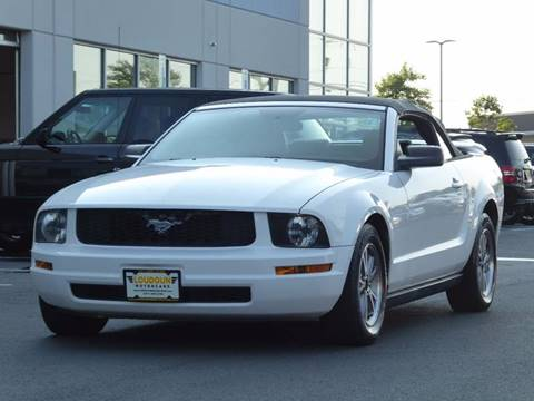 2005 Ford Mustang for sale at Loudoun Motor Cars in Chantilly VA