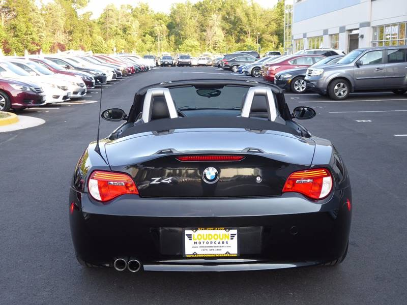 2006 BMW Z4 for sale at Loudoun Motor Cars in Chantilly VA