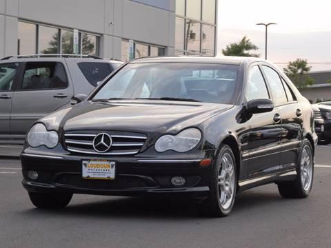 2004 Mercedes-Benz C-Class for sale at Loudoun Motor Cars in Chantilly VA