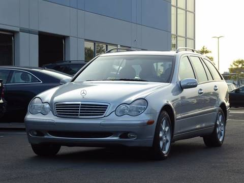 2004 Mercedes-Benz C-Class for sale at Loudoun Motor Cars in Chantilly VA