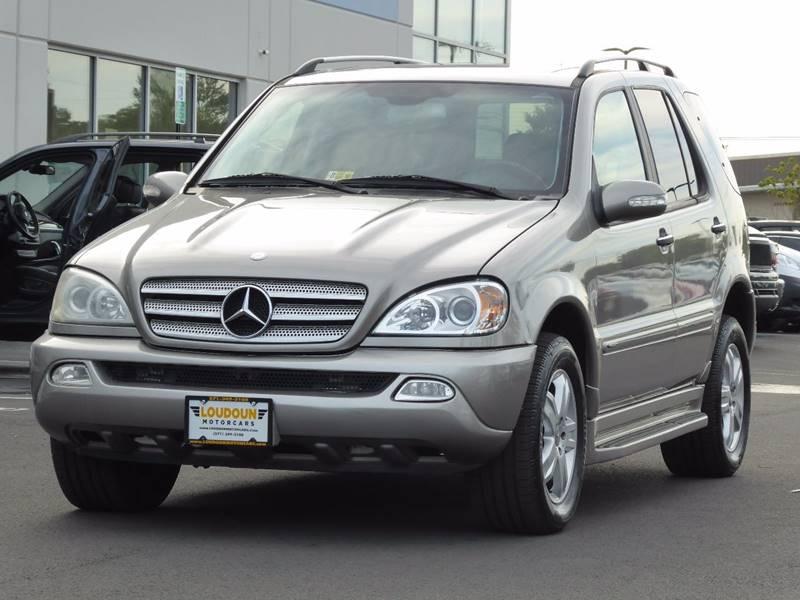 2005 Mercedes-Benz M-Class for sale at Loudoun Motor Cars in Chantilly VA