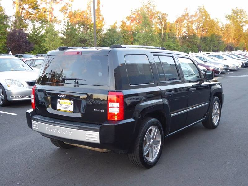 2008 Jeep Patriot for sale at Loudoun Motor Cars in Chantilly VA