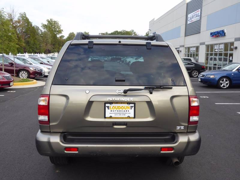 2003 Nissan Pathfinder for sale at Loudoun Motor Cars in Chantilly VA