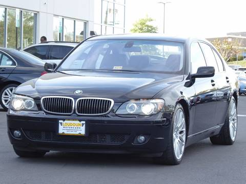 2008 BMW 7 Series for sale in Chantilly, VA