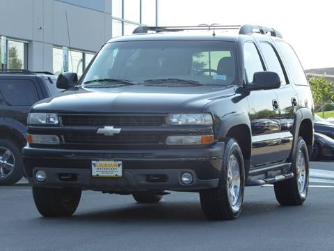 2002 Chevrolet Tahoe for sale at Loudoun Motor Cars in Chantilly VA