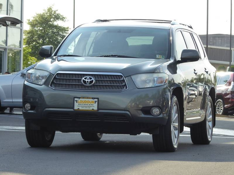 2008 Toyota Highlander Hybrid For Sale At Loudoun Motor Cars In Chantilly VA