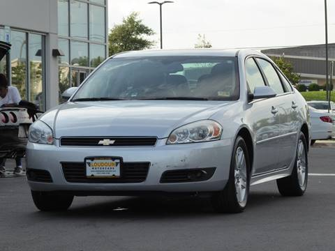 2011 Chevrolet Impala for sale at Loudoun Motor Cars in Chantilly VA