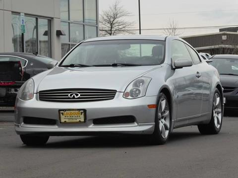 2004 Infiniti G35 for sale at Loudoun Motor Cars in Chantilly VA