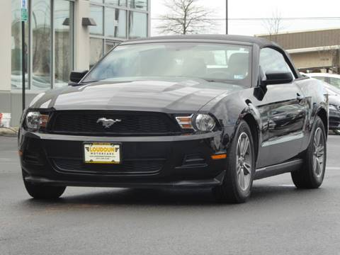 2012 Ford Mustang for sale at Loudoun Motor Cars in Chantilly VA