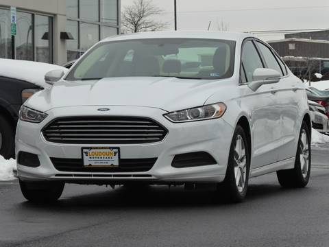 2014 Ford Fusion for sale at Loudoun Motor Cars in Chantilly VA