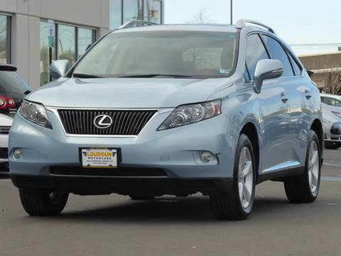 2010 Lexus RX 350 for sale at Loudoun Motor Cars in Chantilly VA
