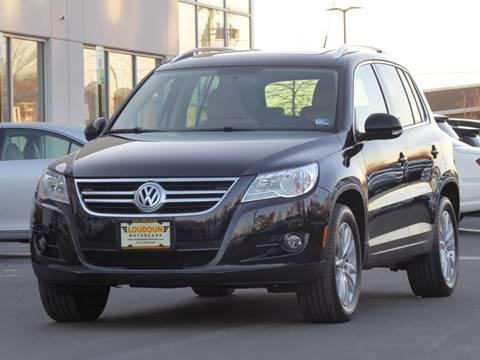 2009 Volkswagen Tiguan for sale at Loudoun Motor Cars in Chantilly VA
