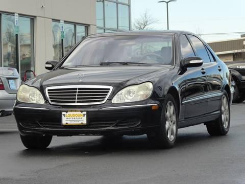 2004 Mercedes-Benz S-Class for sale at Loudoun Motor Cars in Chantilly VA
