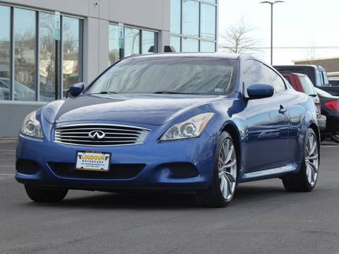 2008 Infiniti G37 for sale at Loudoun Motor Cars in Chantilly VA