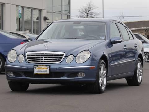 2006 Mercedes-Benz E-Class for sale at Loudoun Motor Cars in Chantilly VA