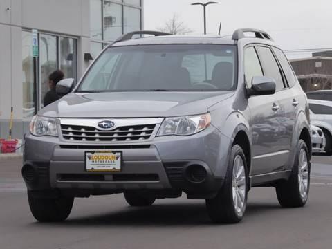 2011 Subaru Forester for sale at Loudoun Motor Cars in Chantilly VA