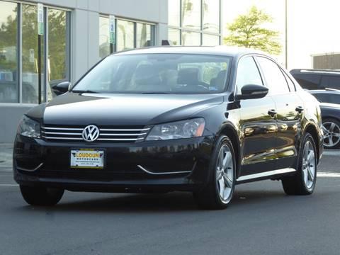 2012 Volkswagen Passat for sale at Loudoun Motor Cars in Chantilly VA