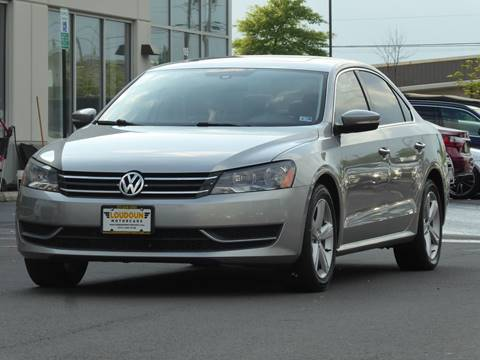 2013 Volkswagen Passat for sale at Loudoun Motor Cars in Chantilly VA