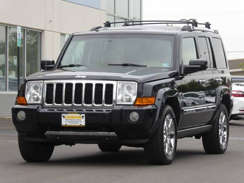 2009 Jeep Commander for sale at Loudoun Motor Cars in Chantilly VA