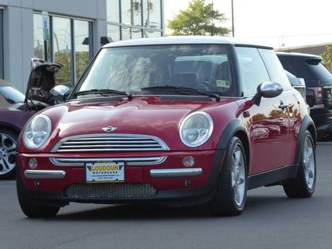 2004 MINI Cooper for sale at Loudoun Motor Cars in Chantilly VA