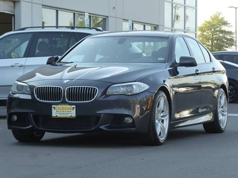 2013 BMW 5 Series for sale at Loudoun Motor Cars in Chantilly VA