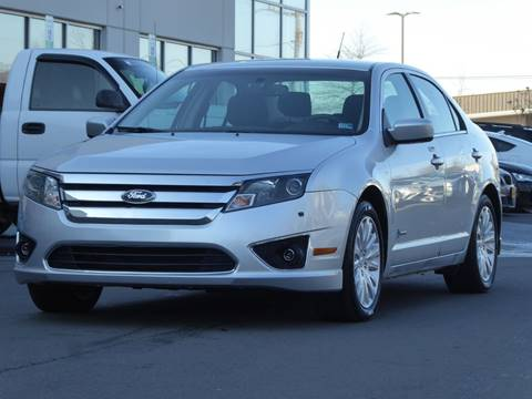 2012 Ford Fusion Hybrid for sale at Loudoun Motor Cars in Chantilly VA