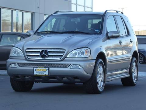 2005 Mercedes-Benz M-Class for sale at Loudoun Motor Cars in Chantilly VA