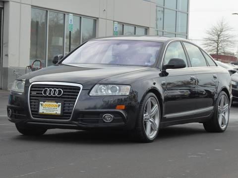 2011 Audi A6 for sale at Loudoun Motor Cars in Chantilly VA