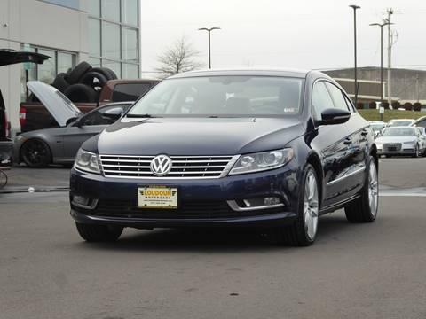 2013 Volkswagen CC for sale at Loudoun Motor Cars in Chantilly VA