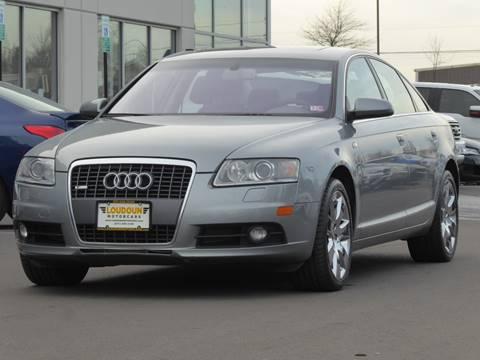 2008 Audi A6 for sale at Loudoun Motor Cars in Chantilly VA
